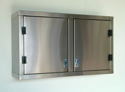 Global International Stainless steel wall cabinet, Two