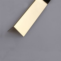 L GOLD  PROFILE  SS 304 DECORATIVE