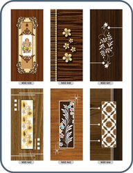 Digital Print Coated PVC Membrane Door