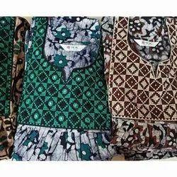 Printed Ladies Designer Cambric Cotton Nighty, L-Xxl