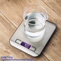 Digital Electric LCD Scale Weighing Machine - Kitchen Nutrition Measurement Tool Scale Up To 5 Kg