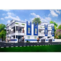 Concrete Frame Structures Residential Construction Service, in Chennai