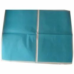Plain Double Sided Blue Printing Paper, GSM: 45
