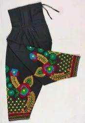 Stitched Daily Wear Traditional Kutch Embroidered Patiyala Salwar, Waist Size: Free