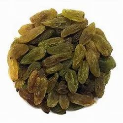 Packed Green Long Raisins, Packaging Type: Plastic Box, Packaging Size: 1 Kg