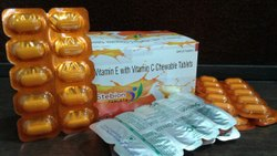 Stebion Vitamin E With Vitamin C Chewable Tablets