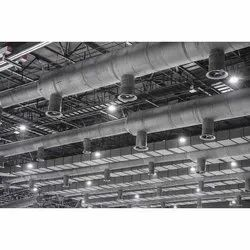 GI Sheet HVAC Ducting System, For Industrial Use