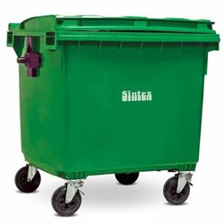 Plastic 660 Litre Wheeled Garbage Bin