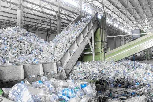 Plastic Bottle Recycling Plant