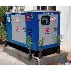 25kva Escorts Three Phase Diesel Generator, For Construction, 230 V