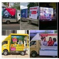 Banner Mobile Van Branding Service, In Kerala, Road Show, Vehicle Display