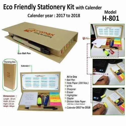 Stationery Kit With Calender