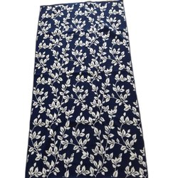 Cotton Flower Printed Towel, 450 GSM, Size: 60 X 120 Cm
