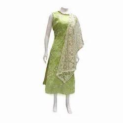 Stitched Wedding Wear Cotton Suit, Machine Wash