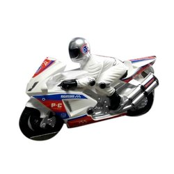 Toys world White Kids Police Bike