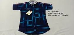LATEST COLORFUL PRINTED  HALF SLEEVE SHIRT FOR BOYS