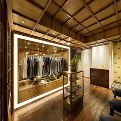 Garment Showroom Interior Designing Service, Work Provided: Wood Work & Furniture