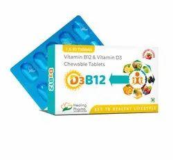 D3 B12 Chewable tablets