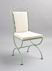 custom Iron Decorative Folding Chair, For Home