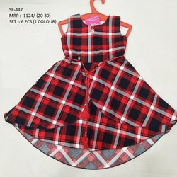 NEW FANCY SLEEVES LESS LONG FROCK FOR GIRLS