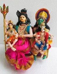 Sivan Parvathi Handmade Doll