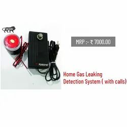 Home Gas Leakage Detection System with calls
