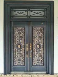 Mild Steel Exterior Door