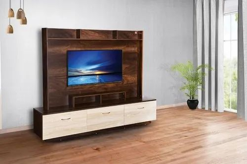 Bold Bella Wall Unit Tv Stand Willson Color Dark Walnut For Home Hotel Residential Living Room Rs 16800 Unit Id 22587480062