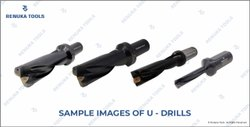 Renuka Tools Carbide Tipped U- Drills / Indexable Drills, For Drilling