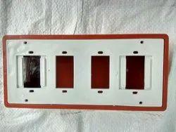 Omega Plastic 5 Way PVC Open Switch Board