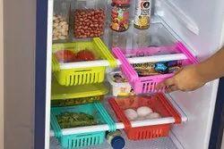 Primelife Expandable Fridge Storage Rack Tray Plastic (Set of 4)