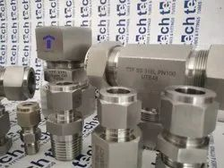 SS Single Ferrule Fittings