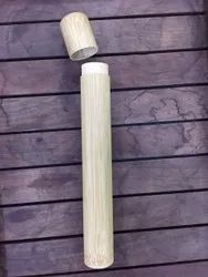 Bamboo Travel Tube With Bamboo Toothbrush. 100% Fungus Free With Report
