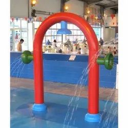 FRP(fibre reenforced plastic) Red Tots Arc Water Tunnel