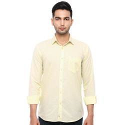Qmaster Full Sleeve QM5039 Mens Plain Shirt, Size: S-xl