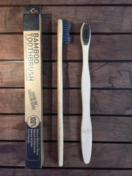 Bamboo Toothbrush (S Curve Handle) 100% Fungus Free With Report