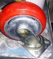 Red Trolley Wheel