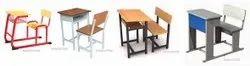 Single Seater School Furniture - Desk
