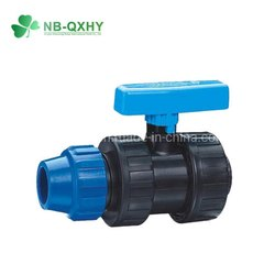 20mm(1/2) Compression Ball Valve One Side Female Threaded - House Service Connection