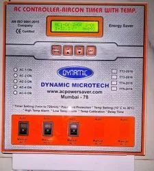3 AC Controller Timer With Temperature