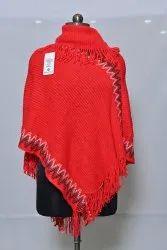 PU79 Woolen Poncho