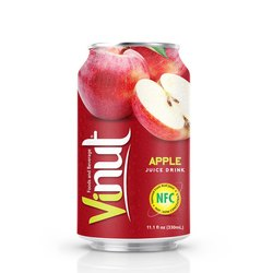 Vinut Apple Fruit Juice With Pulp 330 Ml