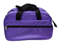 Purple Polyester Plain Traveling Bag, Size/dimension: 20x16 Inch