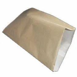 Brown Rectangle Paper Laminated HDPE Bag, Storage Capacity: 5 Kg