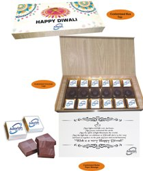 Rectangle Brown Diwali Special Chocolate Box, For Gifts