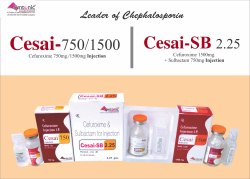 Cesai-SB 2.25 Injection Cefuroxime Axetil 1500mg   Sulbactum 750mg