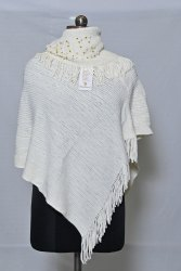 PU76 Woolen Poncho