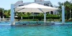 PVC Swimming Pool Tensile Cover Structures