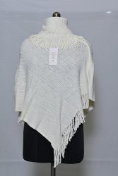 PU75 Woolen Poncho