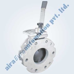 Manual Butterfly Valve For Cement